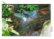 Tropical Stream Carry-all Pouch
