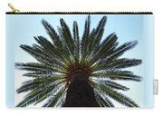 Tropical Summer Palm Tree Carry-all Pouch