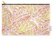 Tropical Sunset Leaves Carry-all Pouch