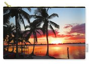 Tropical Sunset Carry-all Pouch