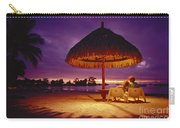 Tropical Tahitian View Carry-all Pouch
