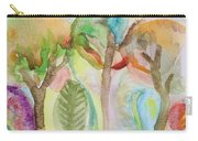 Tropical Trees Carry-all Pouch