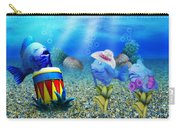 Tropical Vacation Under The Sea Carry-all Pouch