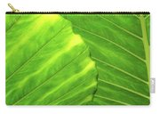 Tropical Vibrant Green Carry-all Pouch
