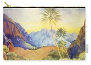 Tropical Vintage Hawaii Carry-all Pouch