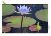Tropical Water Colors Carry-all Pouch