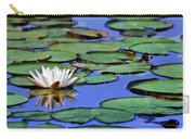 Tropical Water Lily Carry-all Pouch
