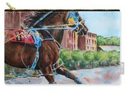 trotter standardbred Horse at the Little Brown Jug Carry-all Pouch