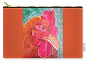 Troubles Portrait Chicken Art Carry-all Pouch