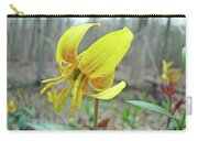 Trout Lily - Erythronium Americanum  Carry-all Pouch