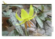 Trout Lily Wildflower - Erythronium Americanum Carry-all Pouch