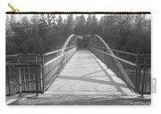 Trowbridge Falls Bridge Bw Carry-all Pouch