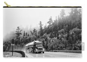 Truck On Foggy Highway Carry-all Pouch
