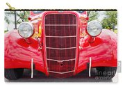 Truck Red Carry-all Pouch