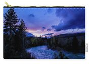 Truckee River Sunset Carry-all Pouch