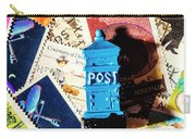True Blue Postbox Carry-all Pouch