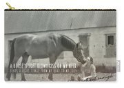 Truest Companion Quote Carry-all Pouch