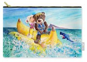 Truffle Mcfurry And Mary The Scottish Sheep Riding The Banana Carry-all Pouch