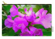 Trumpet Flower 1 Carry-all Pouch