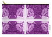 Trumpet Flowers In Abstract Carry-all Pouch