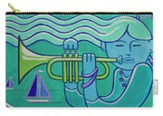 Trumpet Girl Carry-all Pouch