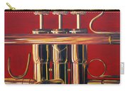 Trumpet In Red Carry-all Pouch