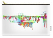 Trumpet Painted Digital Art Carry-all Pouch