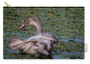 Trumpeter Swan Foot Wave Carry-all Pouch