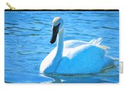 Trumpeter Swan Impressions Carry-all Pouch