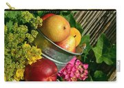Tub Of Apples Carry-all Pouch