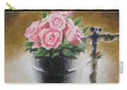 Tub Of Roses Carry-all Pouch