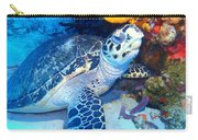 Tucked Away Turtle Carry-all Pouch