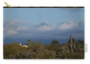 Tucson In Winter Carry-all Pouch