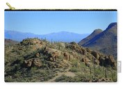 Tucson Mountain Ranges Carry-all Pouch