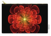 Tudor Rose - Abstract Carry-all Pouch