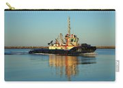 Tug Boat Reflections Carry-all Pouch