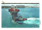 Tugboat At Freeport, Grand Bahamas Harbor Carry-all Pouch