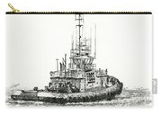 Tugboat Daniel Foss Carry-all Pouch