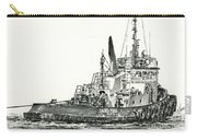 Tugboat David Foss Carry-all Pouch