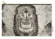 Tugboat In San Francisco Bay Carry-all Pouch