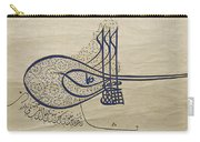Tughra Of Suleiman The Magnificent Carry-all Pouch