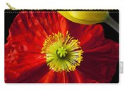 Tulip And Iceland Poppy Carry-all Pouch by Garry Gay