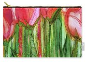 Tulip Bloomies 2 - Red Carry-all Pouch