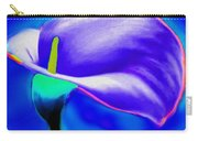 Tulip Blue By Nicholas Nixo Efthimiou Carry-all Pouch