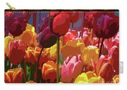 Tulip Confusion Carry-all Pouch by Sharon Talson