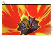 Tulip Flower Floral Art Print Red Yellow Tulips Baslee Troutman Carry-all Pouch