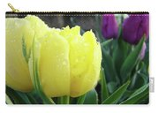 Tulip Flowers Artwork Tulips Art Prints 10 Floral Art Gardens Baslee Troutman Carry-all Pouch