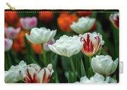 Tulip Flowers Carry-all Pouch by Pradeep Raja Prints