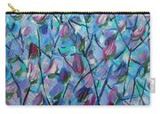 Tulip Harmony- Abstract Art Carry-all Pouch