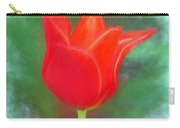 Tulip In Abstract. Carry-all Pouch